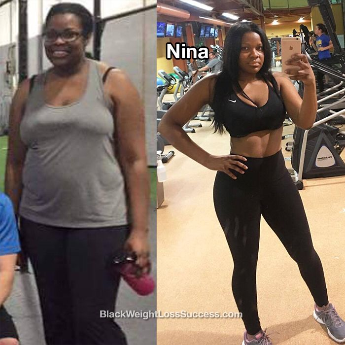 Before and after weight loss nigerian
