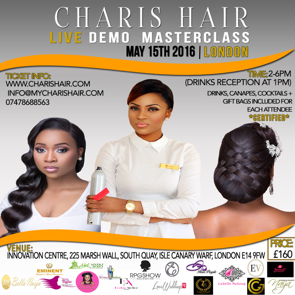 coming hair and beauty event nigeria