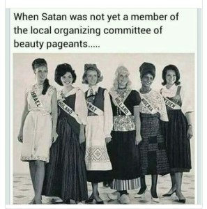 before the devil took over beauty pageantry