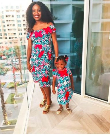 Ankara styles for mother and daughter
