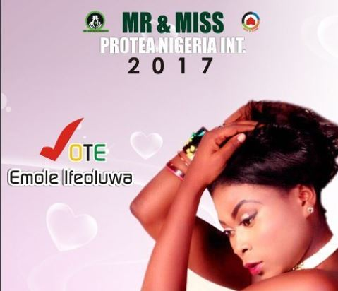 Beauty pageant contestants in Nigeria