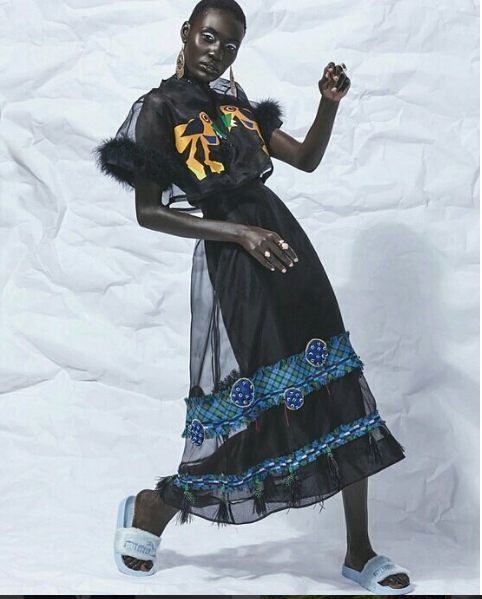 Black dresses in Africa