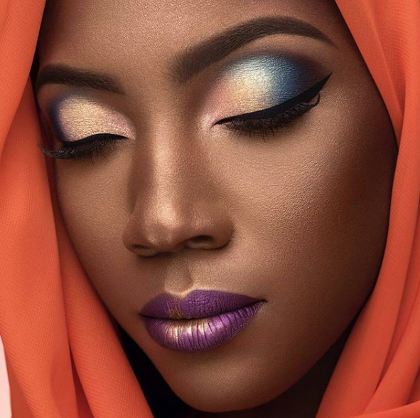 Makeup look in Nigeria