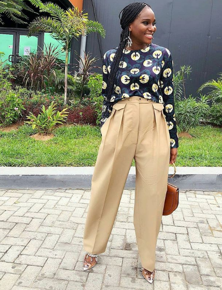corporate look in Lagos, Nigeria