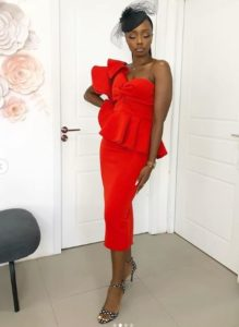 how to slay a red dress