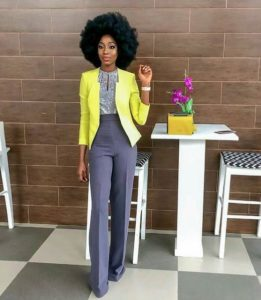 how to dress corporately to work