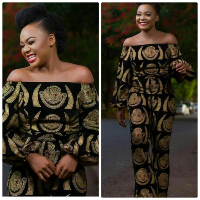 igbo isiagu jump suit for ladies